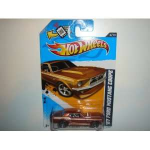 2012 Hot Wheels Muscle Mania   Ford 67 Ford Mustang Coupe Copper #116