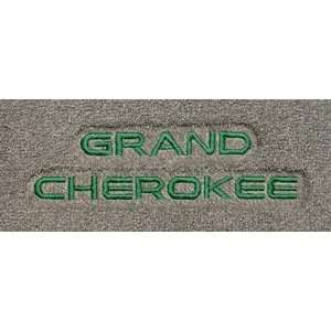 Logo 009  2010 Jeep Grand Cherokee 2 Luxury 2 Pc Front Mats Luxury