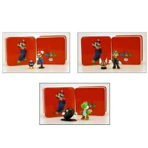 Super Mario Figure Tins Case Of 12 Toys & Games