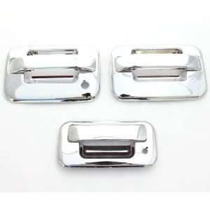 04 11 Ford F 150 (2 Doors) Chrome Door Handle & Tailgate