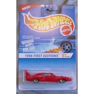 Hot Wheels   1970 Dodge Charger Daytona (#382)   1996 First Editions