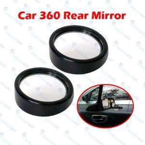360 Degree Wide Angle Car Mirror Blind Spot Auto Rear View