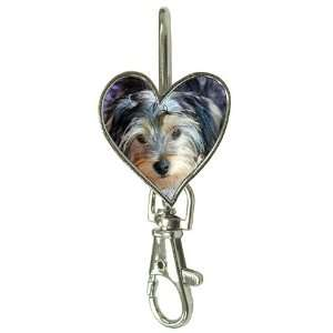 Yorkshire Terrier Puppy Dog 3 Key Finder P0654
