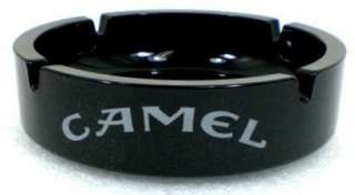 CAMEL Cigarettes Black Amethyst Glass ASHTRAY NEW