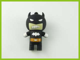 16GB 16G Cute Batman USB Drive flash Memory Pen Drive Black U06