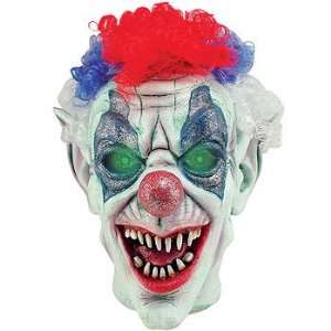 Animated Talking Clown Head Halloween Decoration