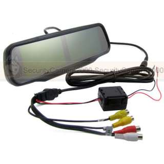 TFT LCD, Monitor, 2CH, Video, Input, Rearview Mirror, Touch Screen