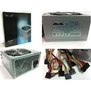 SUPER CORE 500W MAX 20+4PIN/2XSATA/120mm Fan ATX Power