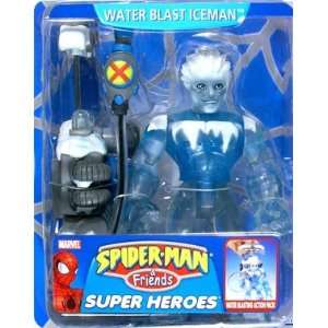 Spider Man & Friends Water Blast Iceman Action Figure Toys & Games