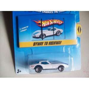 Wheels Color Shifters 1981 Corvette Stingray Police Car Toys & Games
