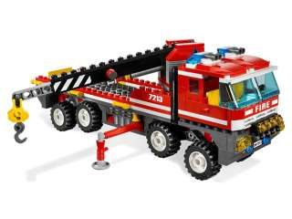 Brand Korea Lego City Fire 7213 Figures Sets Off Road Fire Truck