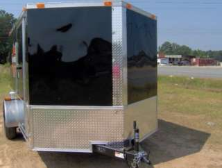 motorcycle 2 bike trailer 7x10 finished Harley Davidson decals