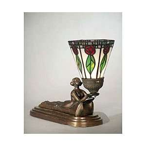 Dale Tiffany Mini Lady Accent Lamp