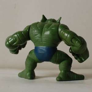 Q74 Marvel Thor Super Hero Squad Green ABOMINATION