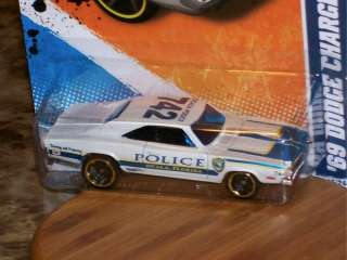 HOT WHEELS 69 DODGE CHARGER HW MAIN STREET 11 POLICE