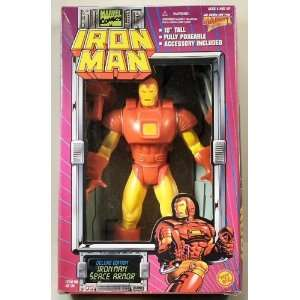 Iron Man Deluxe Edition Iron Man Space Armor Toys & Games
