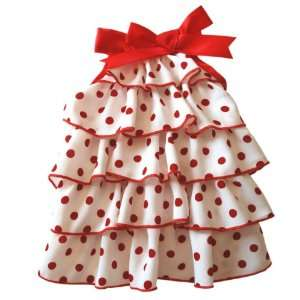 Anit Accessories Polka Dot Dress Dog Apparel, Medium 16