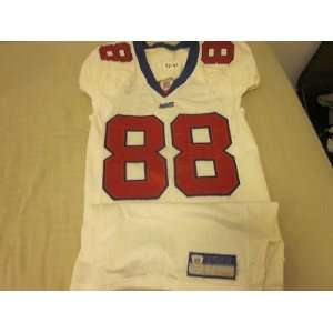 com 2002 New York Giants NFL Game Used Jersey #88 Ike Hilliard   NFL