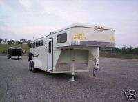 NEW 2012 FOUR HORSE 700 DELUXE  HORSE  STOCK TRAILERS