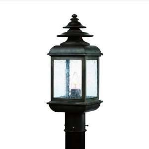 ADAMS 1LT POST LANTERN COLONIAL IRON