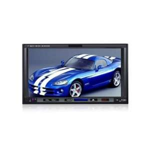 HJ7007S 7 LCD Touch Screen 2 Din Car DVD Media Player