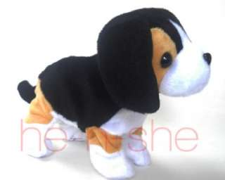 Sound Voice Control Stuffed Animal Toy Beagle Puppy Dog 9999 1