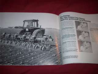 1981 John Deere Sugar Beet Equipment Brochure 20 Pages 4310A Harvester