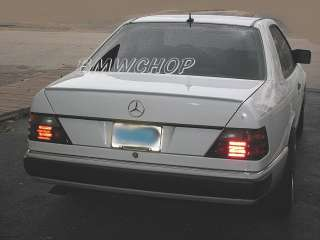 Mercedes Benz W124 Trunk lip spoiler E class 95 300e ●