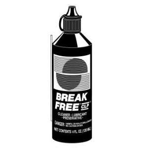 Break Free 4 fl oz Cleaner, Lubricant, Preservative liquid #CLP 4 100
