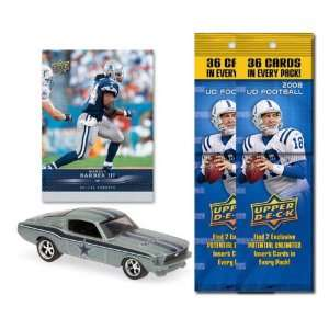 Dallas Cowboys 1967 Ford Mustang Fastback Die Cast with Marion Barber