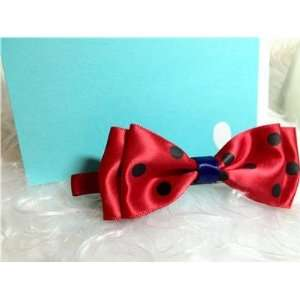 Lovely Cute Kids Girls Manual Hairclip Red and Black