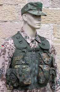 GERMAN ARMY FLECKTARN TACTICAL ASSAULT VEST