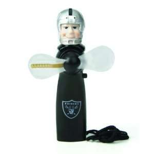 Oakland Raiders Magical LED Light Up Football Fan and Display Stand