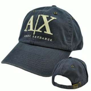 Armani Exchange AX Italian Fashion Designer Brand Relaxed Fit Hat