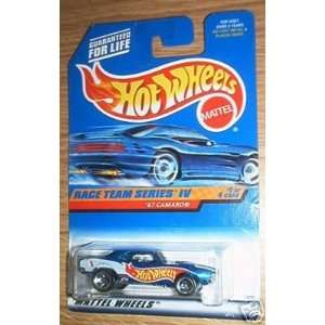 Mattel Hot Wheels 1998 164 Scale Race team Series IV Blue