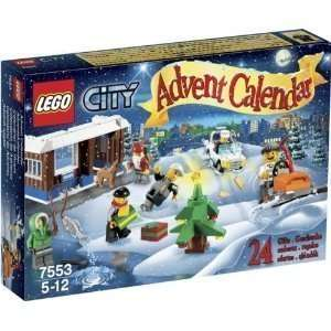 LEGO LEGO City Advent Calendar Toys & Games