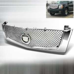 2002 2006 Cadillac Escalade Mesh Grill Chrome (will not