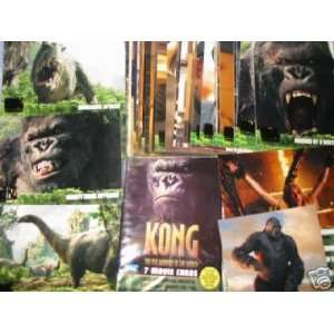 King Kong 8th Wonder of the World Movie Trading Cards Embossed Tin Box