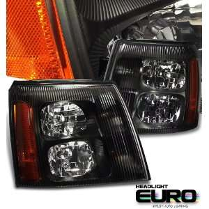 2006 Cadillac Escalade Suv Black W/O Hid Type Headlight Performance