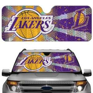 Los Angeles Lakers Car Truck SUV Front Windshield Sunshade   Accordion