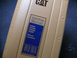 Caterpillar 924H 928Hz 930H Loader Service Manual Repair shop engine