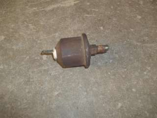 87 Chevy Camaro Small Block Chevy Oil Pressure Gauge Sending Unit