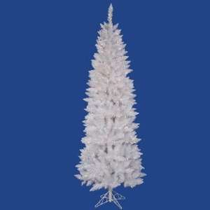 Vickerman A104077LED Crystal White Spruce 90 Pencil