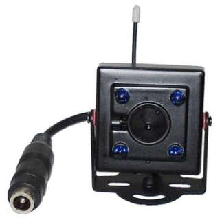 Wireless 2.4GHz 4 Channel Receiver CCD Color Camera Kit