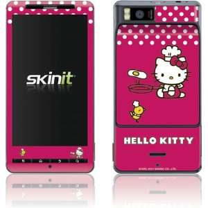 Skinit Hello Kitty Cooking Vinyl Skin for Motorola Droid X