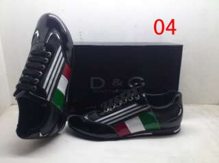 2012 NEW D.G Mens shoes Fashion Sneakers Leather Size40 46