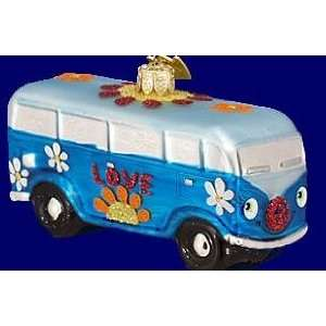 Kurt S. Adler Noble Gems Groovy Bus Ornament