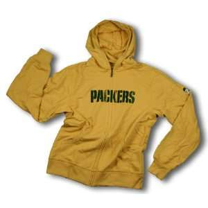 Green Bay Packers Better Blank NFL Mens Full Zip Hoodie