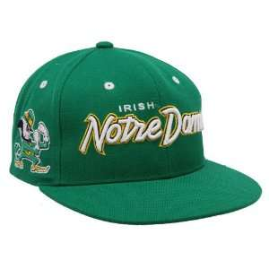 Notre Dame Fighting Irish Green Rainmaker Snapback Adjustable Hat