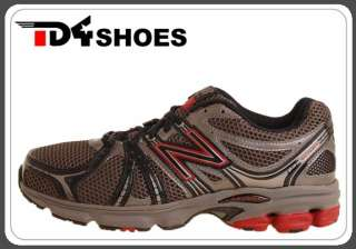 New Balance M660GR 12E Grey Red Mens Trail Running Shoe M660GR12E